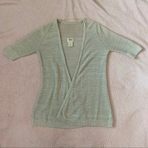 Grey cardigan from Target XS